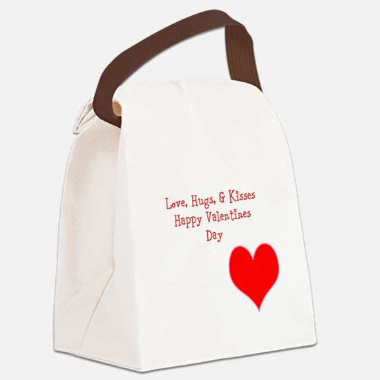 JDLS Valentines Day Specia; Canvas Lunch Bag