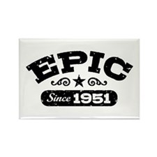 Epic Since 1951 Rectangle Magnet