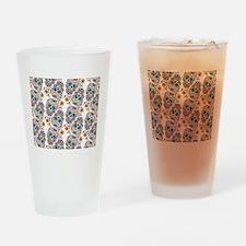 SugarSkull Halloween Drinking Glass