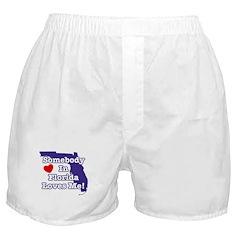 Somebody in Florida Loves Me Boxer Shorts