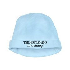 Trickster God In Training baby hat
