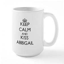 Keep Calm and kiss Abbigail Mugs