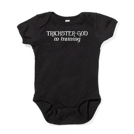 Trickster God In Training Baby Bodysuit
