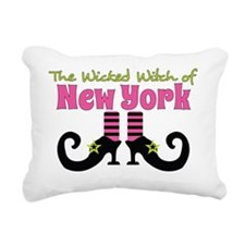 Wicked Witch of New York Rectangular Canvas Pillow
