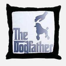 Poodle Throw Pillow
