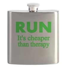 RUN..Its cheaper than therapy Flask