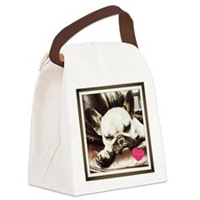 Coco in Love Canvas Lunch Bag