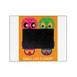Life is short - Skulls Picture Frame