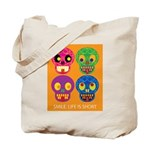 Life is short - Skulls Tote Bag