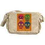 Life is short - Skulls Messenger Bag