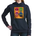 Life is short - Skulls Hooded Sweatshirt