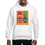 Life is short - Skulls Hoodie Sweatshirt