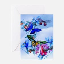 Shower Curtain Take Flight! Butterfl Greeting Card