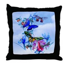 Shower Curtain Take Flight! Butterfly Throw Pillow