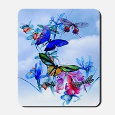 Shower Curtain Take Flight! Butterfly Ca Mousepad