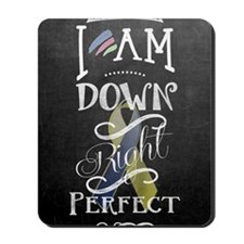 Down Right Perfect RR Mousepad