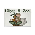 What A Zoo Rectangle Magnet (10 pack)