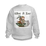 What A Zoo Kids Sweatshirt
