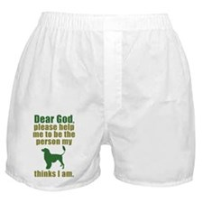 Portuguese Water Dog Boxer Shorts