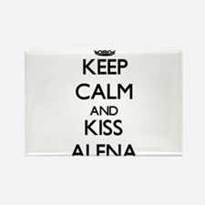 Keep Calm and kiss Alena Magnets