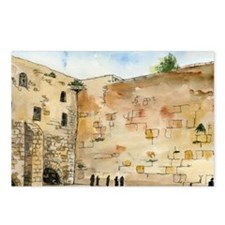 Western Wall Postcards (Package of 8)