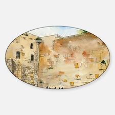 Western Wall Sticker (Oval)