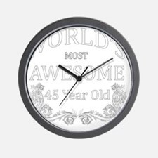 45 Wall Clock