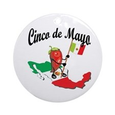 Cinco de Mayo 2 Ornament (Round)