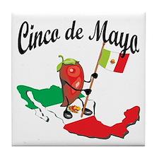 Cinco de Mayo 2 Tile Coaster