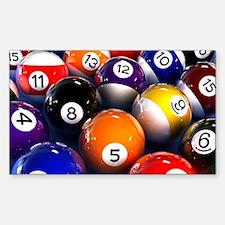 Billiard Balls Decal
