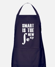 Smart is the new sexy Apron (dark)