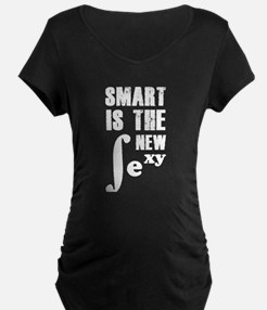 Smart is the new sexy Maternity T-Shirt