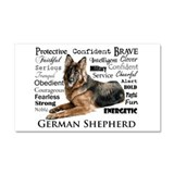 "German shepherd 12"" x 20"""