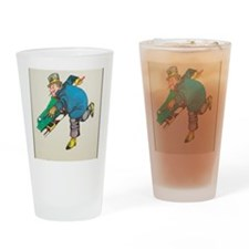 WC Fields Drinking Glass
