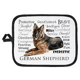 German shepherd dog dog lover Potholders