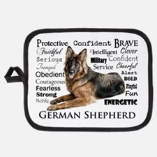 German Shepherd Traits Potholder