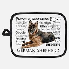 German Shepherd Traits Potholder