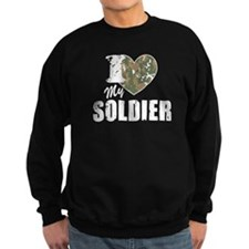 I Heart My Soldier Sweatshirt