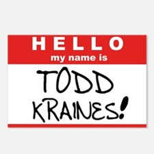 Its me... TODD KRAINES! Postcards (Package of 8)