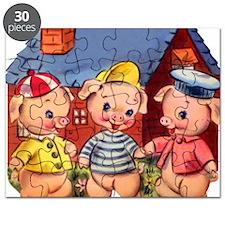 Cute Pigs Puzzle