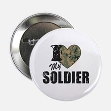 "I Heart My Soldier 2.25"" Button"