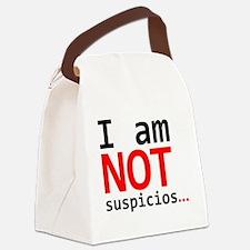 I am not suspicios Canvas Lunch Bag