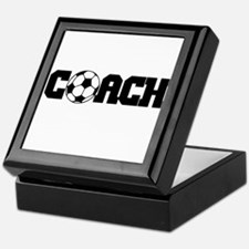Soccer Coach Keepsake Box