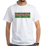 Bleeding Heart White T-Shirt