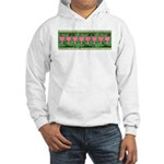 Bleeding Heart Hooded Sweatshirt