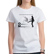 """""""Outsource Management"""" Tee"""