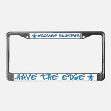 Ice Skating License Plate Frame