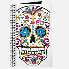 SugarSkull Halloween White Journal