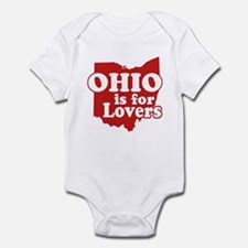 Ohio is for Lovers Infant Bodysuit
