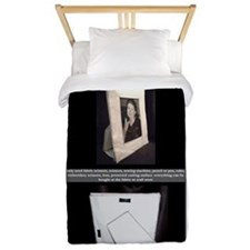 washable sewn fabric picture frame for  Twin Duvet
